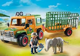 Playmobil Camión con elefante Wild Life 6937