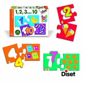 Puzzle 1,2,3...10 Diset 63301