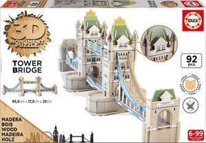 Puzzle 3D Monument Tower Bridge Educa 16999