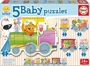 Puzzle 5 Baby Progresivos Educa 17142