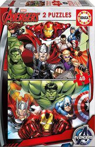 Puzzle Avengers 2x48 piezas Educa 15932