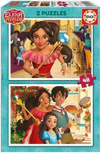 Puzzle Elena Avalor 2x48 piezas Educa 17401