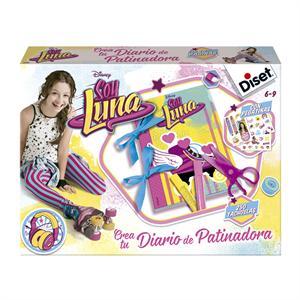 Soy Luna crea tu diario de patinadora Diset 46592