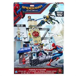Spiderman Ciudad de ataque con figura Hasbro 9692B