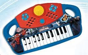 Spiderman Organo Electrónico 25 teclas Reig 562