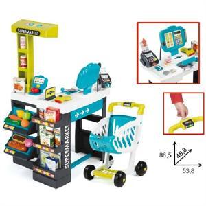 Supermercado Electronico 87x46x54cm con 41 accesorios Smoby 350206