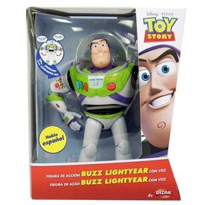 Toy Story Figura Buzz Lightyear con voz y sonidos Bizak 61234070