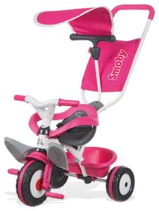 Triciclo Baby Balade Rosa Smoby 444207