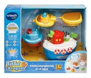 Tut Tut ¡Al agua! Emilio emergencias en el agua Vtech Baby 500322