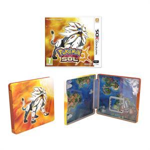Video Juego 3DS Pokémon Sol Edición Especial