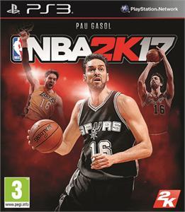 Video Juego PS3 NBA 2K17