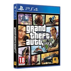 Video Juego PS4 Grand Theft Auto V