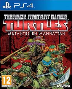 Video Juego PS4 Teenage Mutant Ninja Turtles