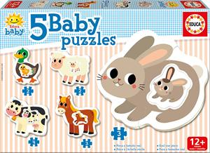Baby Puzzles Animales Granja Educa 17574