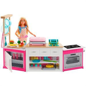 Barbie Cocina Superchef+Muñeca Mattel 73FRH