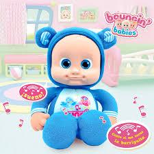 Bouncin Babies Baniel Mi pequeño Amigo Azul Cife 41201