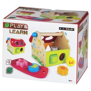 Casa Formas Madera Color Baby 42750