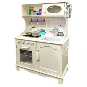 Cocina de Madera Vintage con Accesorios (Disponible solo en tienda) Impo 011682