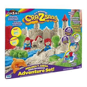 Crazsand Arena Moldeable Castillo Toy Partner 19513