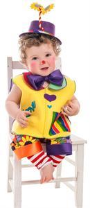Disfraz Bebé Payasin Love Talla 0-12 meses Llopis 2238