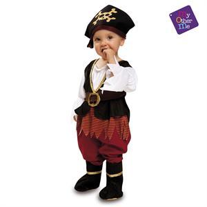 Disfraz Bebé Pirata Niña 7-12 Meses Viving 200568