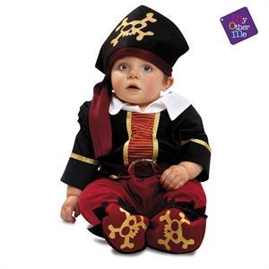 Disfraz Bebé Pirata Niño 7-12 Meses Viving 200569