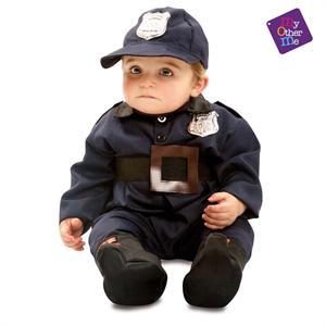 Disfraz Bebé Policia 0-6 Meses Viving 203291