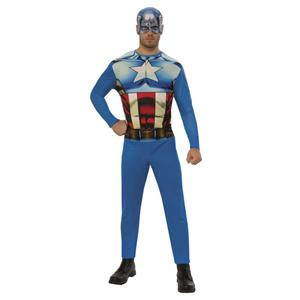 Disfraz Capitán America Adulto Talla 38-40 Rubies 820955M