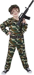 Disfraz Infantil Combat Solder Talla M 5-7 años Rubies 8316M