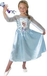 Disfraz Infantil Elsa Classic+Microfono Talla 5-6 años Rubies 620284M