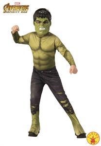 Disfraz Infantil Hulk Talla 3-4 años Rubies 641054S