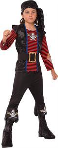 Disfraz Infantil Pirata Bribon Talla 8-10 años Rubies 630938L