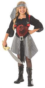 Disfraz Infantil Piratesa Escarlata Talla 8-10 años Rubies 641146L