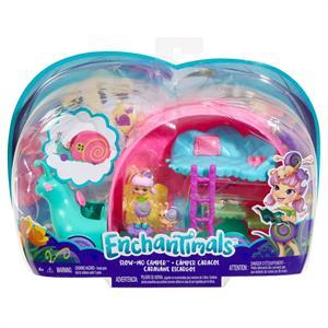 Enchantimals Caracol Autocaravana Bichiamigas Petal Park Mattel 42GCT