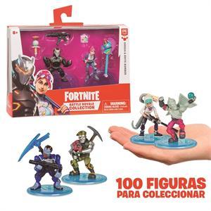 Figura Fortnite Pack 2 Figuras Giochi Preziosi 13000FRT