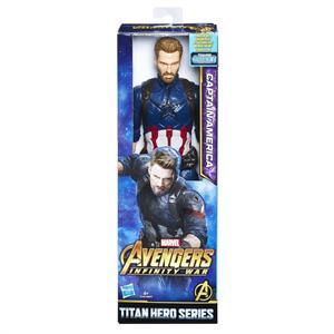 Figura Titan Hero Capitán America Hasbro 570E