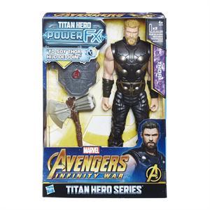Figura Titan Hero y Mochila Power Fx Thor Hasbro 616E