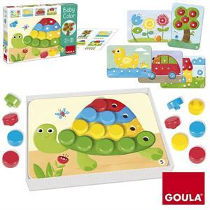 Goula Juego Educativo Madera Mosaico 53140