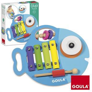 Goula Juego Musical Madera 3 en 1 53143