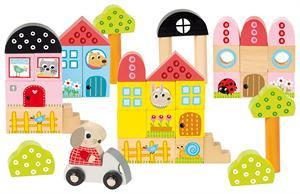 Goula Pack Construcciones Madera 40 piezas Diset 50201