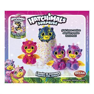 Hatchimals Sorpresa Giraven Morado Bizak 61921922