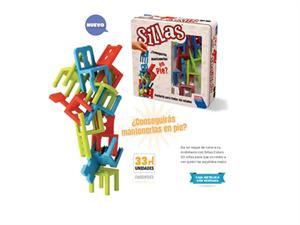 Juego De las Sillas de Colores Falomir28022