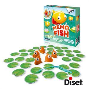 Juego Memo Fish Diset 62312
