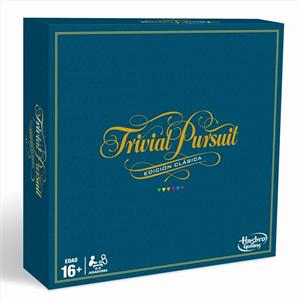 Juego Trivial Pursuit Edición Clasica Hasbro 1940C