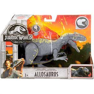 Jurassic World Dinosaurio Allosaurus con Sonido 15cm Mattel 30FMM