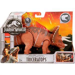 Jurassic World Dinosaurio Triceratops con Sonido 15cm Mattel 24FMM