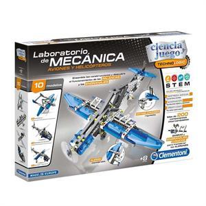 Laboratorio de Mecánica Aviones y Helicopteros Clementoni 55160