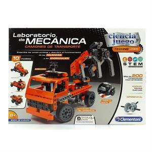 Laboratorio de Mecánica Camiones de Transporte Clementoni 55250