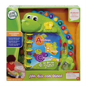 Leap Frog Libro Aprendizaje Un Dia Con Dino Cefa 706