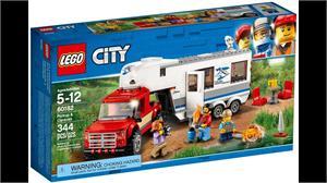 Lego City Camión Caravana 60182